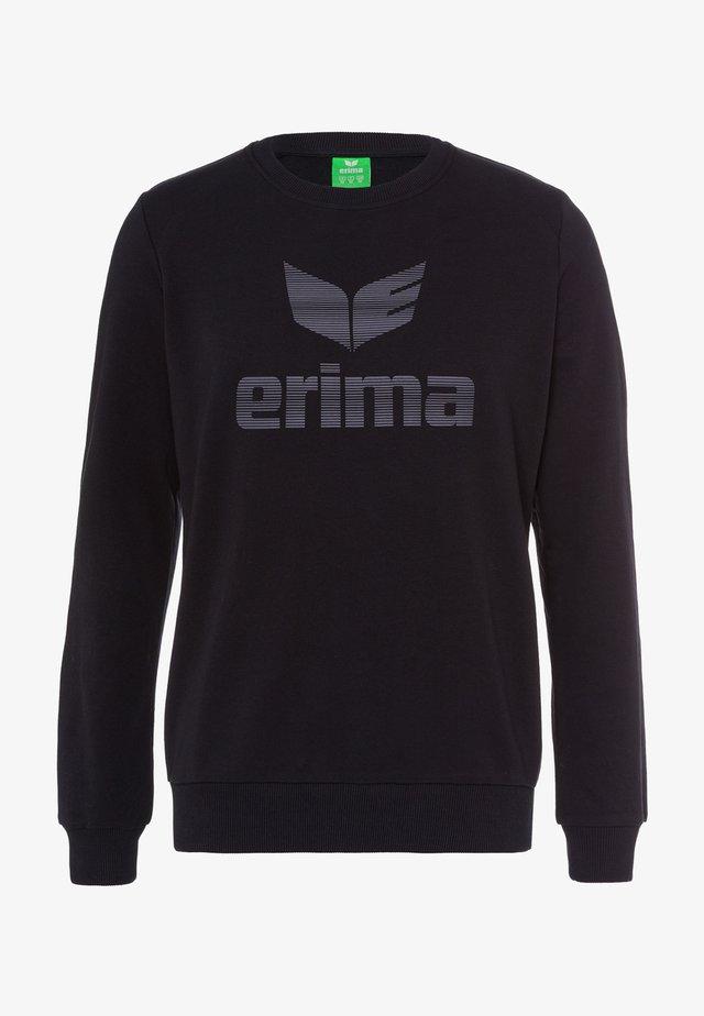 ESSENTIAL - Sweatshirt - schwarz/grau