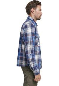 Brandit - HERREN CHECKSHIRT - Shirt - navy - 4