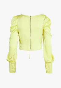 Missguided Tall - SQUARE NECK - Bluser - yellow - 1