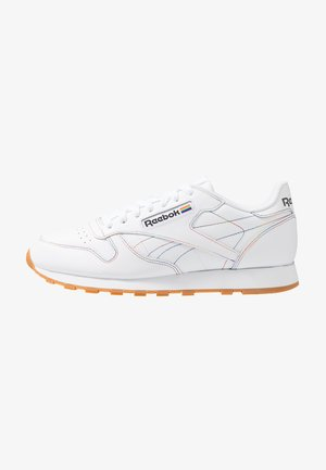 CLASSIC LEATHER PRIDE LOW-CUT DESIGN SHOES - Sneaker low - white/emerald/cobalt