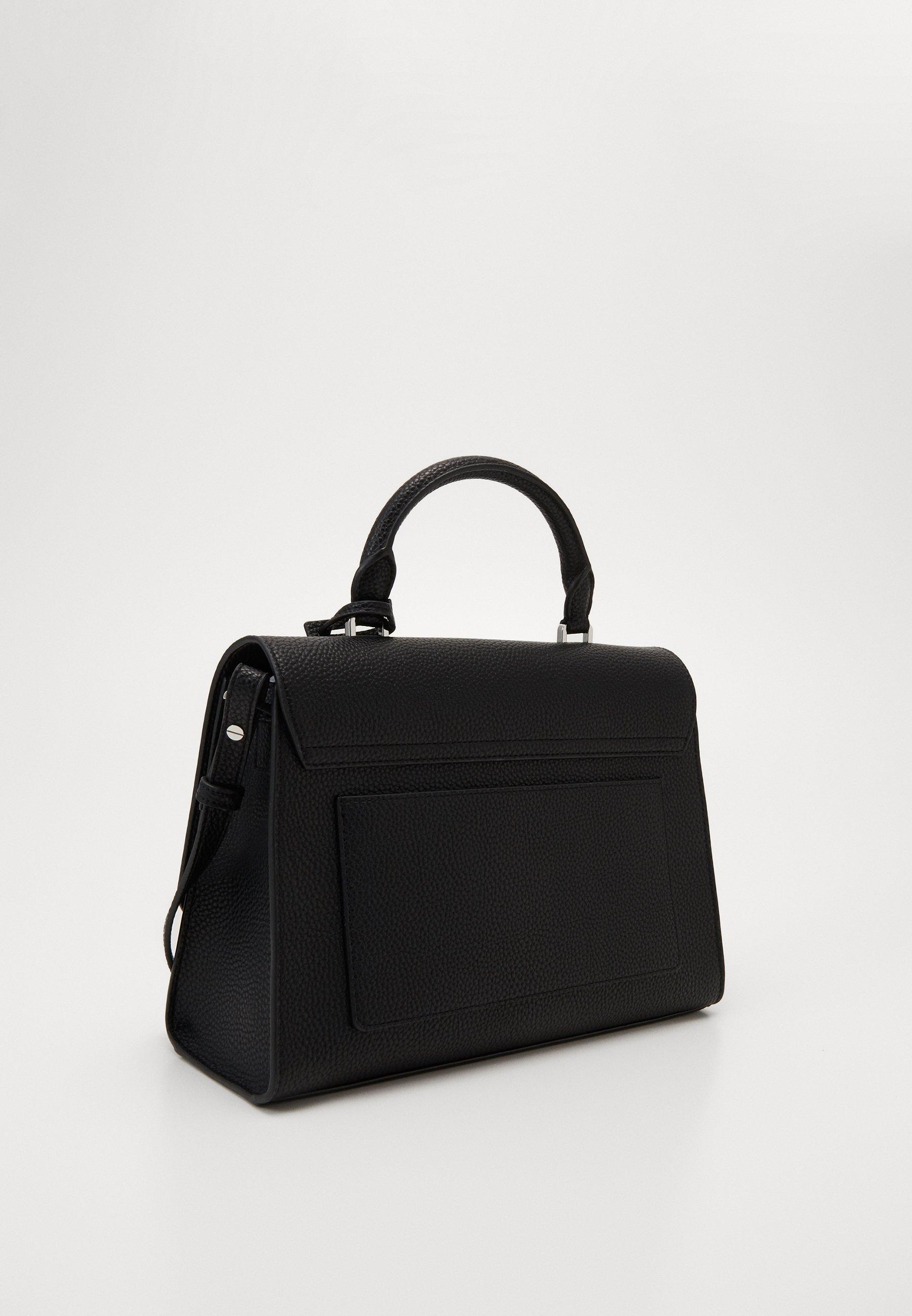 Cheapest Best Place Accessories Calvin Klein DRESSED BUSINESS TOP HANDLE Handbag black PJRXKhxOd tcGvMv93I
