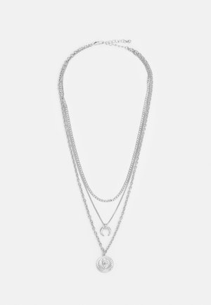 PCSANDY COMBI NECKLACE - Necklace - silver-coloured