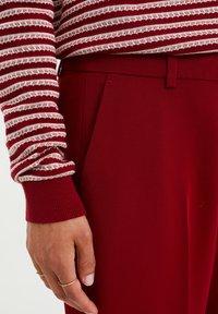 WE Fashion - Kangashousut - red - 3