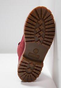 Timberland - ICONIC - Šněrovací kotníkové boty - dark red - 5