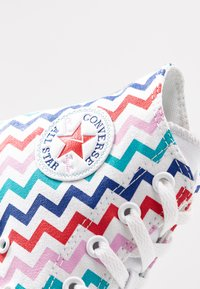 Converse - CHUCK TAYLOR ALL STAR - Baskets montantes - white/university red/peony pink - 2