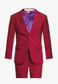 BLAZING - Suit - bordeaux
