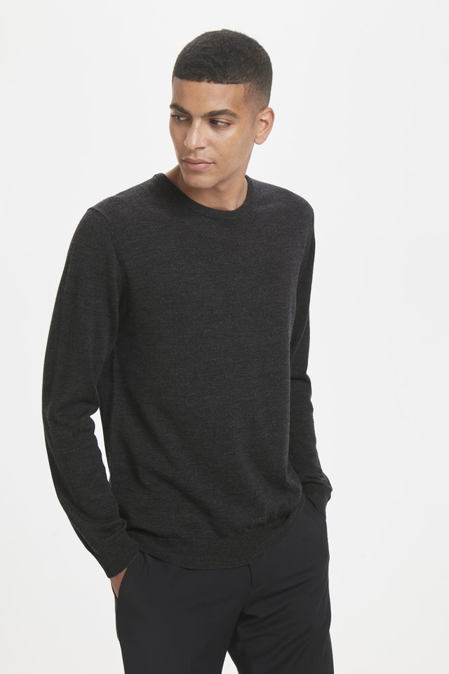 MARGRATE - Pullover - dark grey