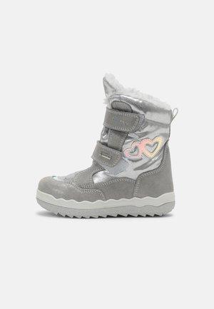 Winter boots - grigio/argento