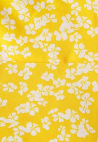 Glamorous - CARE PRINTED MINI DRESS WITH SHOULDER TIE DETAIL - Day dress - yellow - 2