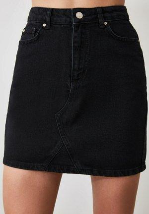 PARENT - Denim skirt - black
