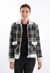 Felix Hardy - Light jacket - black white - 0
