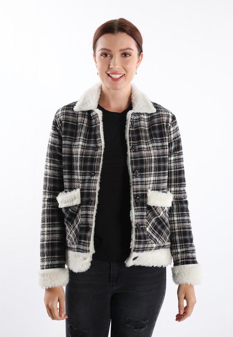 Felix Hardy - Light jacket - black white