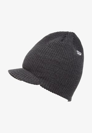 Beanie - charcoal_heather