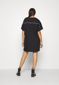 Diesel - BOWLY DRESS - Jersey dress - black - 2