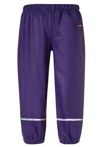 LEGO Wear - PATIENCE - Kalhoty do deště - dark purple - 1