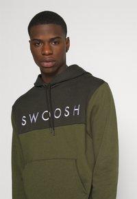 Nike Sportswear - HOODIE - Hoodie - twilight marsh/white - 3