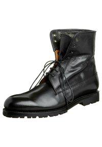 Prime Shoes - SANTO - Lace-up ankle boots - black - 6