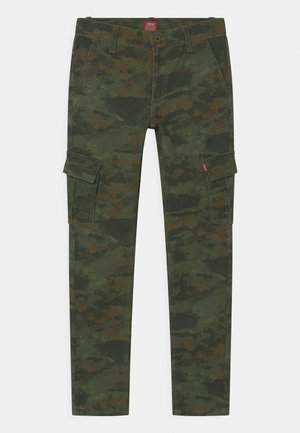 TAPER - Cargo trousers - ocean