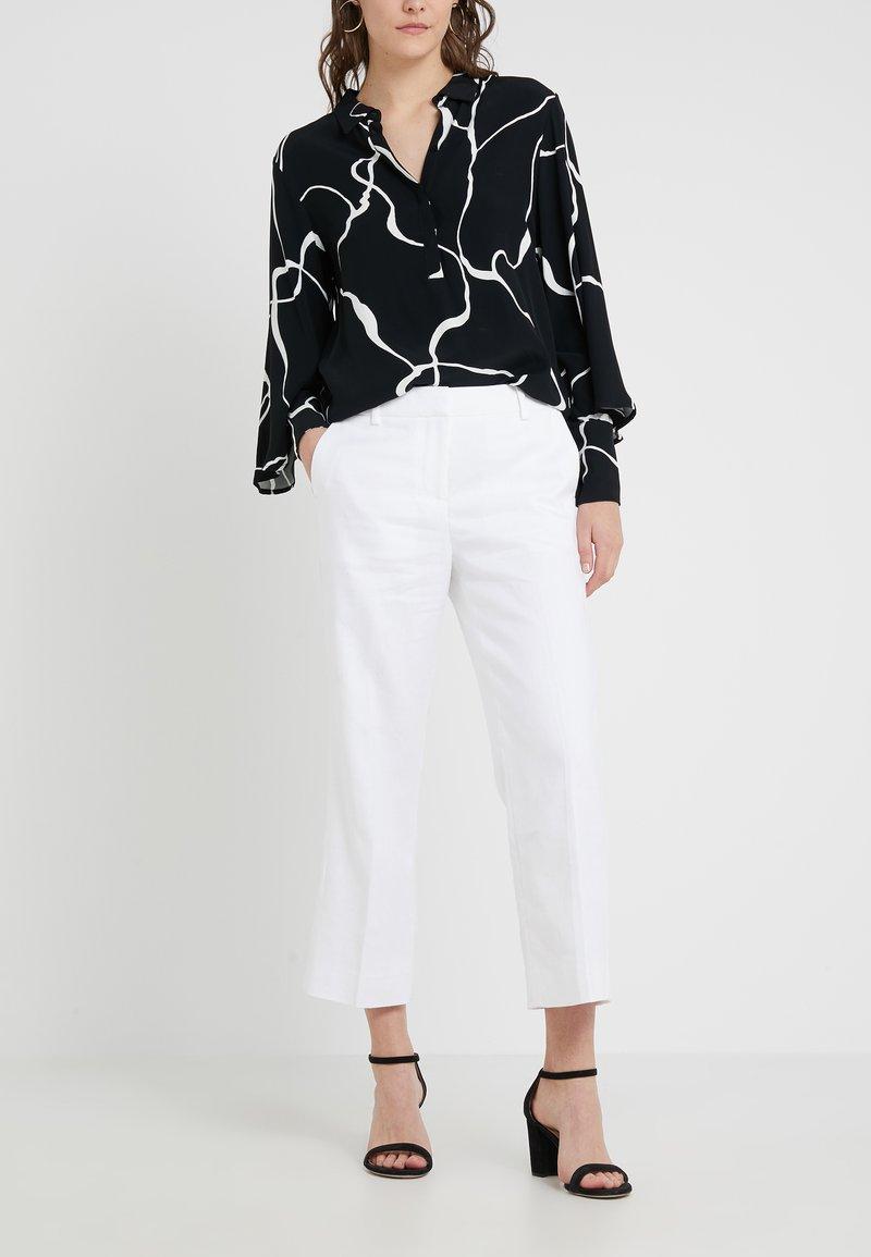 J.CREW - PEYTON PANT IN TRAVELER - Trousers - white