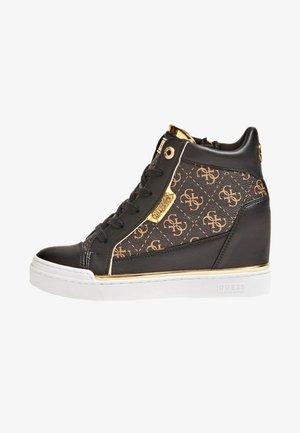 FABIA - Sneakers alte - brown