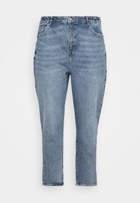 New Look Curves - WAISTENHANCEMOM - Straight leg jeans - mid blue - 4