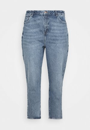 WAISTENHANCEMOM - Straight leg jeans - mid blue