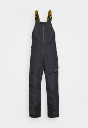 GUNN SHELL BIB - Snow pants - blackout