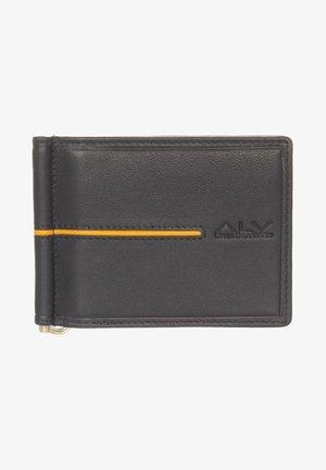 Wallet - black/yellow