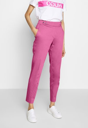 HALONI - Chino kalhoty - bright pink