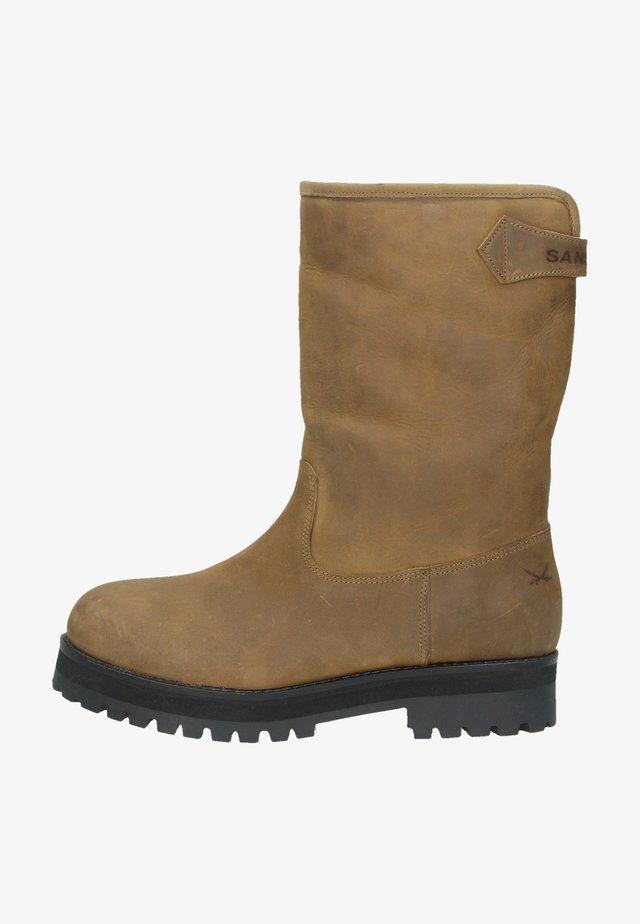 Winter boots - mittelbraun