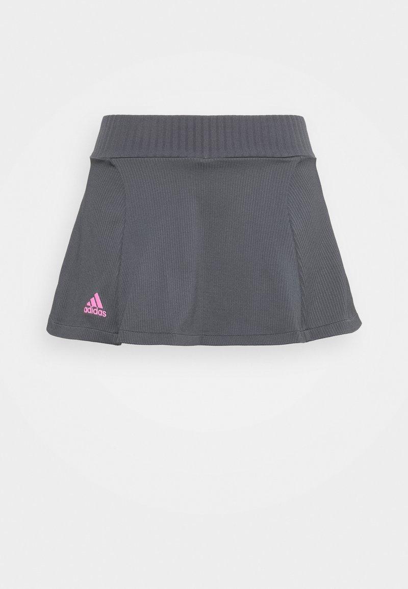 adidas Performance - SKIRT - Falda de deporte - dark grey