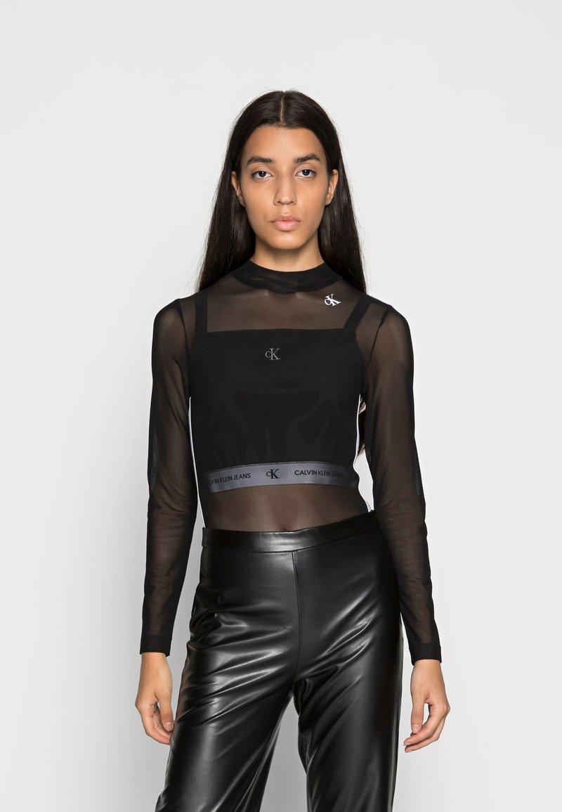 Calvin Klein Jeans - Long sleeved top - black