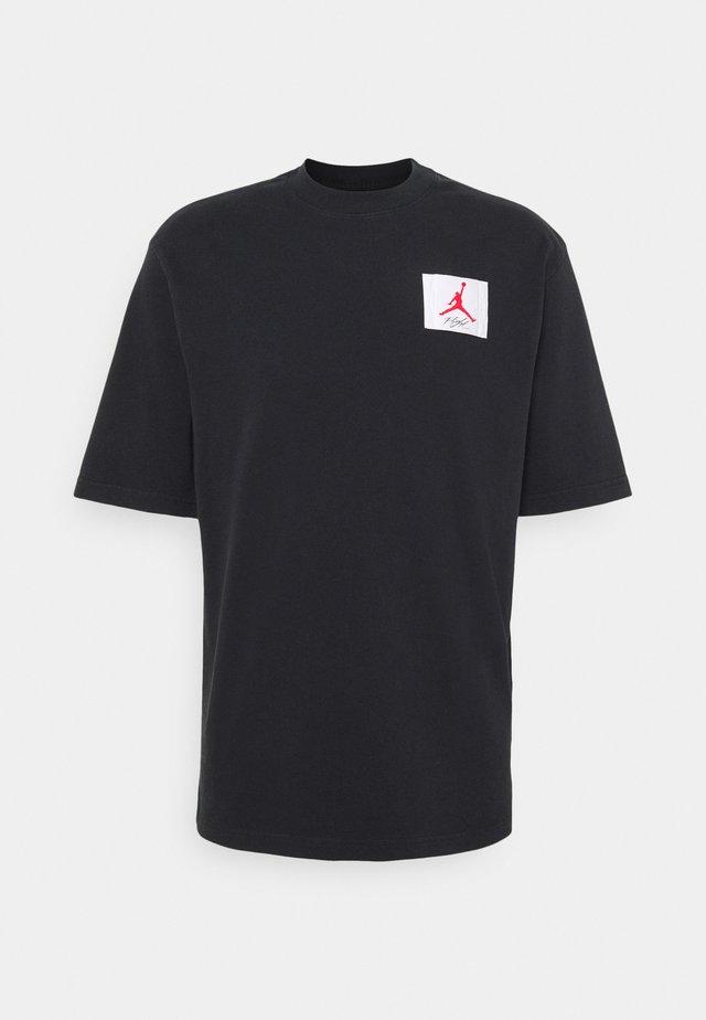 JORDAN CREW - Print T-shirt - black