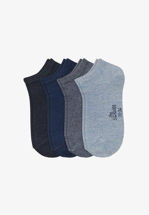4 PAIRS PACK - Socks - blau/grau