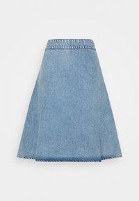 Mads Nørgaard - VINTAGE INDIGO STELISSA - Jupe en jean - washed blue - 1