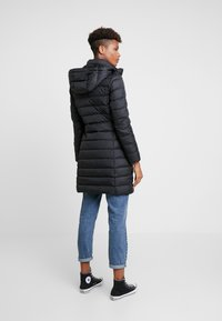 Tommy Jeans - ESSENTIAL HOODED COAT - Piumino - black - 3