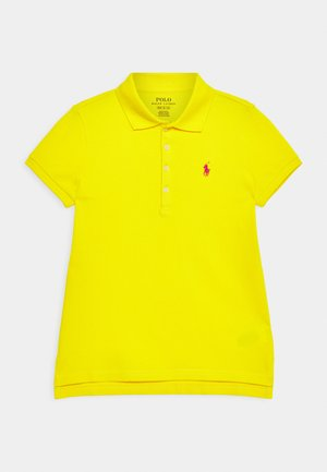 Polo shirt - university yellow/accent pink