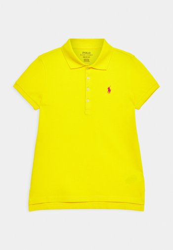Polo shirt - university yellow/accent pink