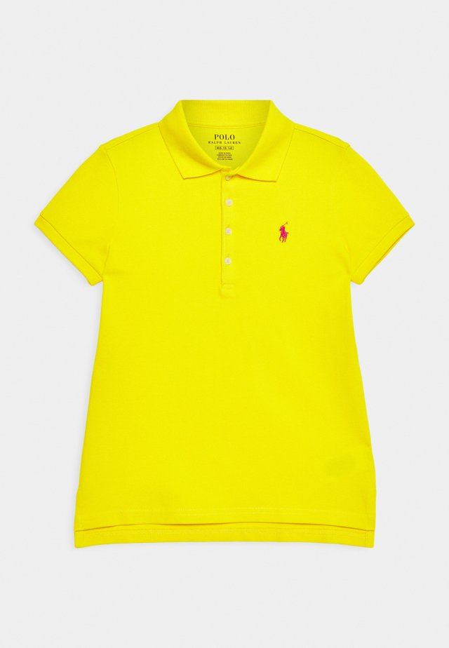 Polo - university yellow/accent pink