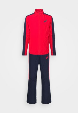 LINED SUIT - Tracksuit - classic red/peacoat