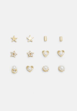 EARSTUD 6 PACK - Øreringe - gold-coloured