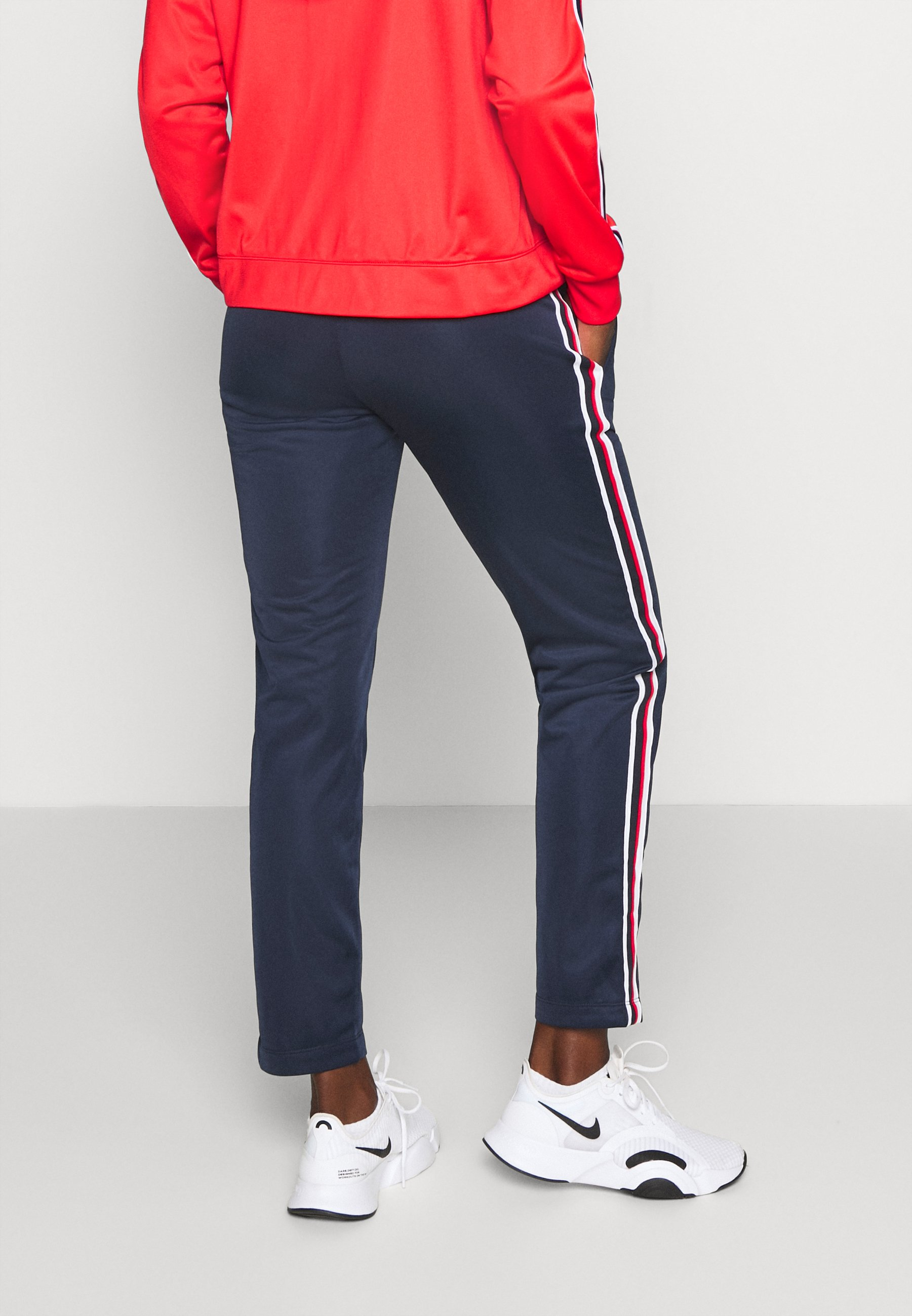 Champion HOODED FULL ZIP SUIT LEGACY - Tracksuit - red BHJF6