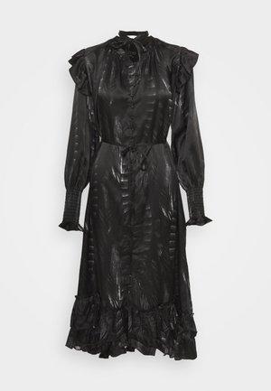 LARA VIOLA DRESS - Košilové šaty - black