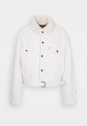 COZY COCOON TRUCKER - Denim jacket - cuddly tofu