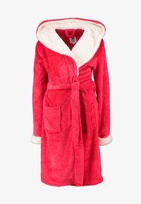 Chelsea Peers - THE SNUGGLE IS REAL DRESSING GOWN - Badjas - red - 4