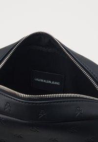 Calvin Klein Jeans - MONOGRAM EMBOSS FLATPACK - Across body bag - black - 2