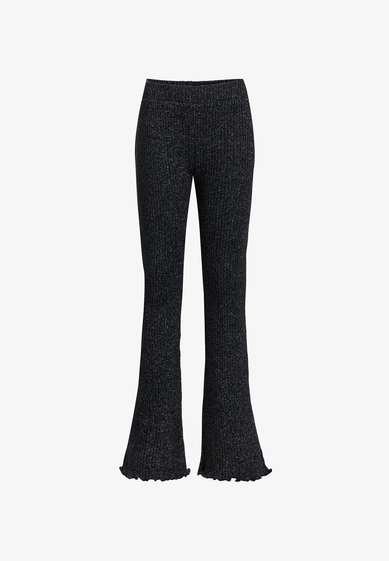 WE Fashion - Trousers - blended dark grey