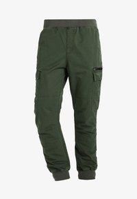 Cargo trousers - dark green