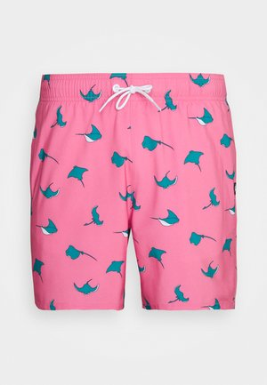 CONVERSATIONAL GUARD STINGRAY - Swimming shorts - pink