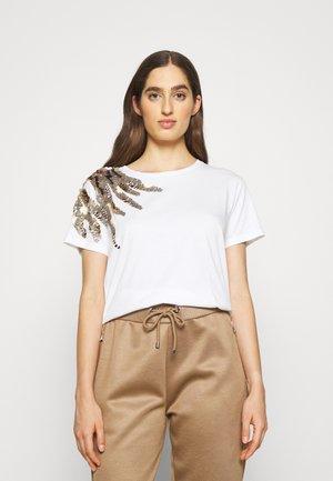 MAGLIA - Print T-shirt - bianco